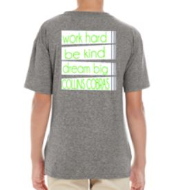 SALE! 2018-2019 Heather Grey with Green Lettering